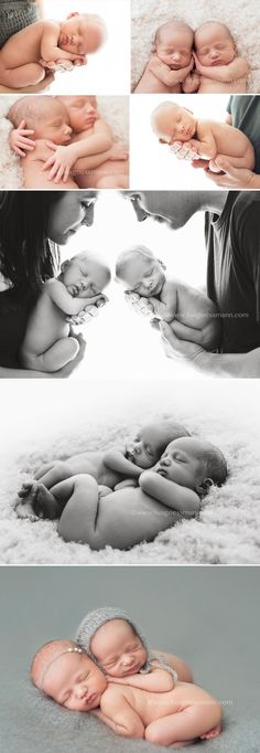 www.lisagoessmann.com newborn twin photography