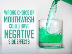 Brush. Floss. Rinse mouth with mouthwash can maximize the benefits of proper oral hygiene, but could mouth rinse actually cause more problems than good? Yes, improper selection of a mouth rinse may cause side effects worse than the condition being treated. Consult Synergy Dental Group about the best mouth rinse to meet the needs of your mouth.