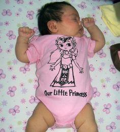 Legend of Zelda - Our Little Princess Onesie - Customizable Sizes 0 - 24 Months. $15.00, via Etsy.