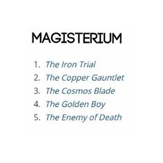 The order of books in the series! So excited! :D<<< Ugh the last one gets me nervous, what if someone tells about Call?