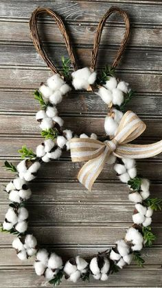 Spring Easter decorations - The 15 best spring Easter decorations- # best ., Spring Easter Decorations - The 15 Best Spring Easter Decorations- # Best . # Best # The # Spring Easter Decorations # Spring Easter Decorations Bes. Diy Osterschmuck, Easy Diy, Easter Crafts For Adults, Cotton Wreath, Diy Ostern, Diy Easter Decorations, Easter Wreaths Diy, Handmade Decorations, Table Decorations