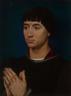 Rogier van der Weyden and Workshop  Netherlandish, c. 1399–1464, Portrait of Jean Gros
