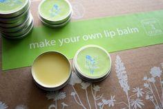 kokosöl kosmetik selber machen, diy lippenbalsame, behälter aus metall