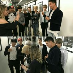 BTS Behind The AMAs Snapchat~ ❤ (BTS' 4th Day In LA! Today they appeared on, On Air With Ryan Seacrest, rehearsed for the AMAs and to celebrate their first U.S. TV performance at the AMAs this sunday there are #BTSxAMAs pins and patches available at: shopamas.com 171117) #BTS #방탄소년단