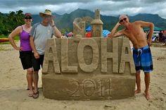 Sandcastles...The Hawaiian Way!