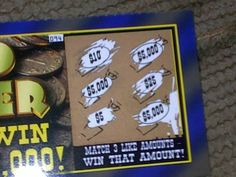 Winning Scratch-Off Lottery Tickets Provide luck a shot, play the lotto to succeed.