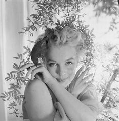 Marilyn Monroe photographed by Cecil Beaton, February 22, 1956