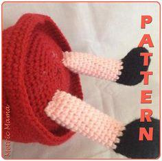 Ravelry: Peppa Pig - - Amigurumi Crochet Plushie pattern by Nicole Davis Plushie Patterns, Crochet Toys Patterns, Stuffed Toys Patterns, Crochet Shoes, Knit Crochet, Baby Girl Crochet, Peppa Pig, Yarn Colors, Slip Stitch