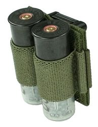 MOLLE / PALS Compatible Modular Double 12ga.Shotgun Shell Carrier