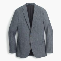 J.Crew Ludlow Suit Jacket In Japanese Chambray ($358.00)