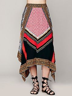 Bedouin Traveler Skirt | $128