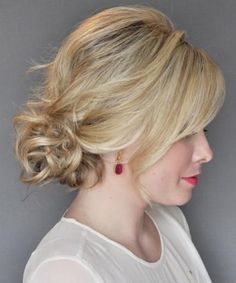 Best Side Updo Blonde Hairstyles 2018 for Prom