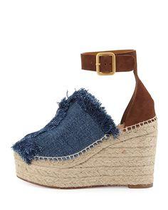 Chloe - Espadril Topuklu Ayakkabı