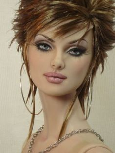 Daphne Tonner Doll Repaints | Sienna-Tonner-Daphne-Ooak-Repaint-Reroot-Doll-Bordello-Dolls-