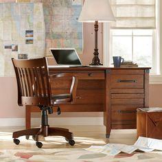 Loon Peak Newdale Computer Desk with 3 Drawers & Reviews | Wayfair
