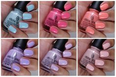 It's that time of the year again! Spring collections are plentiful and I am always ALWAYS excited to see what China Glaze has to offer. When I saw the display for these polishes…
