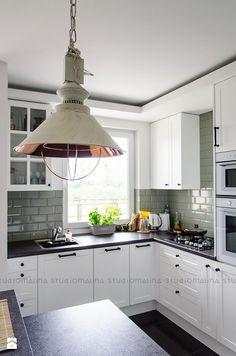 Średnia kuchnia, styl skandynawski Kuchnia - zdjęcie od Studio Malina – Architekci & Projektanci wnętrz