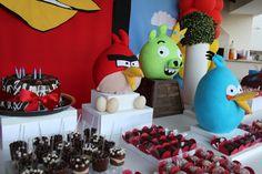 Ateliê Basile: Festa Angry Birds