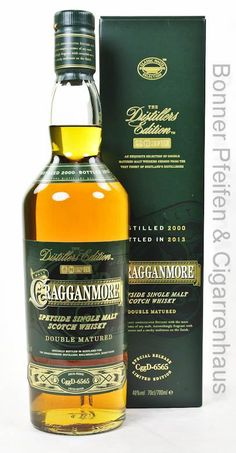 Cragganmore Whisky Distillers Edition 40% 0,7l mit Farbstoff Region : Speyside Port-Wine Cask Wood