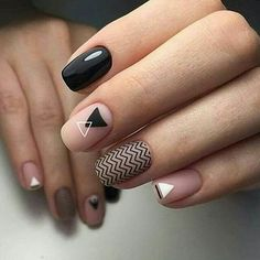 Looking for easy nail art ideas for short nails? Look no further here are are quick and easy nail art ideas for short nails. Classy Nails, Trendy Nails, Stylish Nails, White Nails, Pink Nails, My Nails, White Polish, Nails 2017, Matte Pink