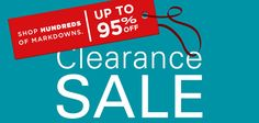 Clearance said on hundred of Markdowns at Christianbook.com!