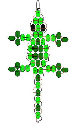 patterns for pony bead animals - Google Search