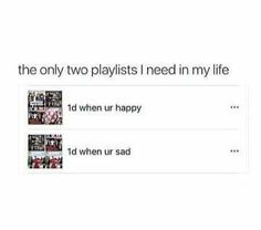 Honestly ... but now their happy songs also makes me cry ....dont know why