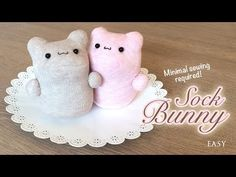 The Best DIY Kawaii Plush Tutorial Ever! You won't believe how easy it is to make these bunnies!. Link download: http://www.getlinkyoutube.com/watch?v=FdICSRmDk0s