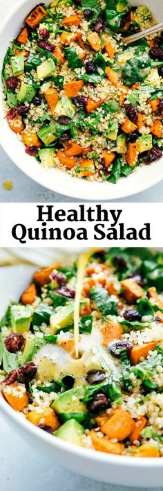 HEALTHY QUINOA SALAD FOR YOUR LUNCH