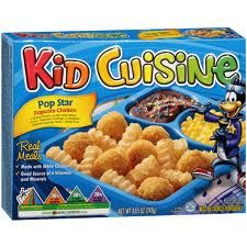 kid cuisine...for when there was a babysitter