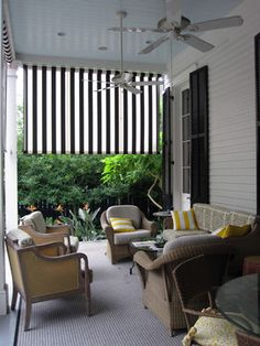 Lower Garden District Residential - traditional - Porch - New Orleans - Peter Raarup Landscape Design