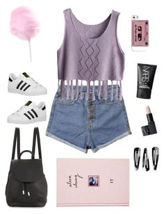 """Fair"" by dardar67 on Polyvore featuring adidas Originals, rag & bone, NARS Cosmetics, NLY Accessories and ASOS"