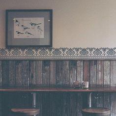 Schmuckrahmen Schablone Möbel einzigartige von StencilsLabNY