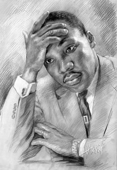 """""""Martin Luther King Jr."""" by Ylli Haruni"""