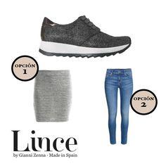 ¿Falda ajustada o jeans? Cuéntanos cómo combinas tus sneakers #LinceShoes #LoveLifeLince