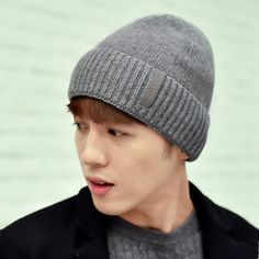 Sports leisure mens beanie hats for winter warm knit hats