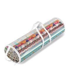 Love this Clear Gift Wrap Organizer on #zulily! #zulilyfinds