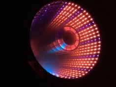 Infinity Mirror Clock : 9 Steps (with Pictures) - Instructables Double Infinity, To Infinity And Beyond, Led Mirror, Mirror Art, Mirrors, Infinity Spiegel, Infinite Mirror, Infinity Lights, Corridor Lighting