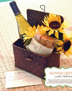 Fall Hostess Gifts