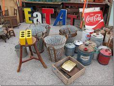 Nashville Flea Market Shopping, Petticoat Junktion