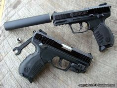 Ruger SR22 Pistol: Compact 22 Long Rifle Semi-Automatic Pistol