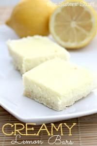 Creamy Lemon Bars by Six Sisters Stuff