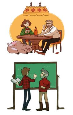 illustratedacorns: I wonder how their relationships will change when the twins grow up.
