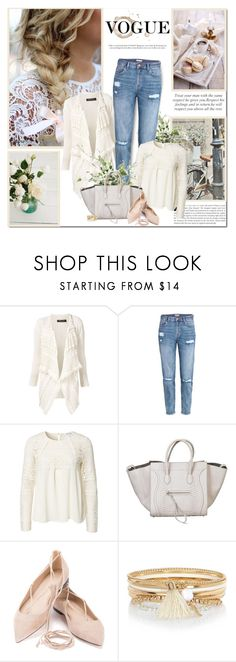"""Kindness is the language which the deaf can hear and the blind can see!!"" by lilly-2711 ❤ liked on Polyvore featuring Twin-Set, H&M, CÉLINE and River Island"