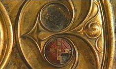 Bronzeschild aus der Themse bei Battersea