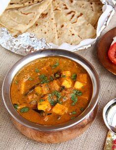 Indisch kochen indisches Essen vegetarisch paneer