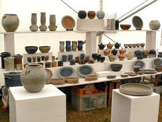 Bang Pottery, Booth Ideas, Craft Sales, Booth Display, Exhibit Booth ...