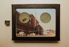 """This handsome display contains a genuine sample of the Chelyabinsk meteorite and a piece of window glass shattered by the meteorite's shockwave.  Asking price is $35.  See this link for photos and details.  Use coupon code """"pinterest"""" at checkout for 20% OFF.  :)"""