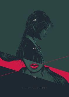 The Handmaiden by Tibor Lovas Red Sparrow, Keys Art, Alternative Movie Posters, Film Posters, Spy, Movie Posters