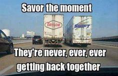 Trucks On Highway #Never, #Together